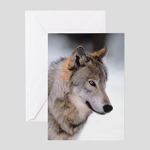 Photo Wolf Greeting Card