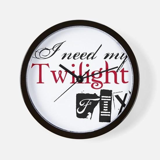 Twilight Fix Wall Clock