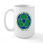 earth day designs Large Mug