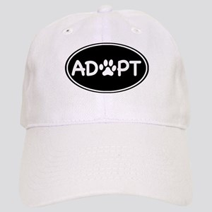 Adopt Black Oval Cap