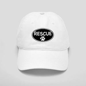 Rescue Black Oval Cap