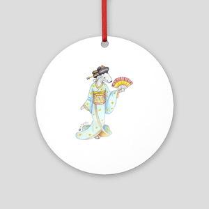 Dancing Bedlies-Geisha Ornament (Round)