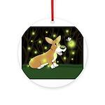 Firefly Corgi Ornament (Round)