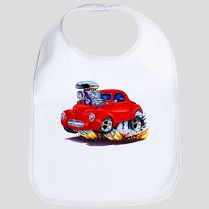 1941 Willys Red Car Bib