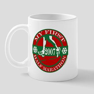 My First Half Marathon - 2007 Mug