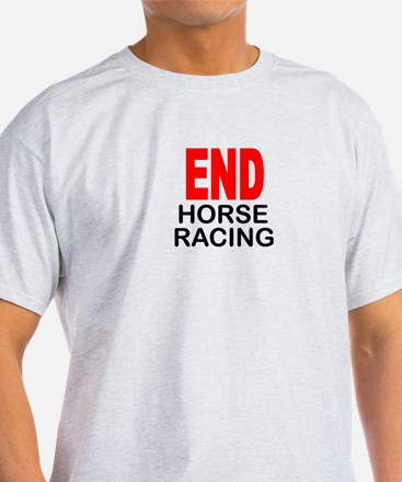 END Horse Racing T-Shirt