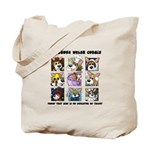 Talented Corgi Tote Bag