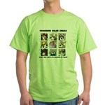 Talented Corgi Green T-Shirt