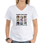 Talented Corgi Women's V-Neck T-Shirt