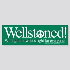 Wellstone Sticker (Bumper)