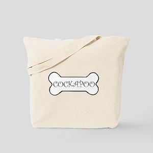 Cockapoo Bone Tote Bag