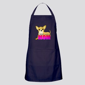 Chihuahua Mom Apron (dark)