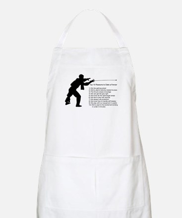 Fencing Style 7 Apron