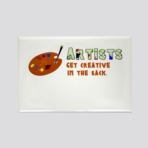 Funny Artists Rectangle Magnet