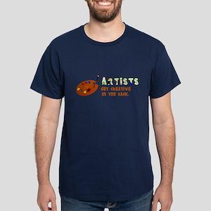 Funny Artists Dark T-Shirt