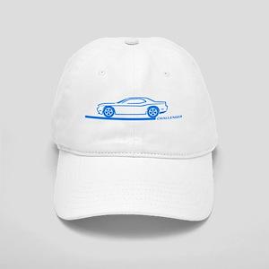 2008-10 Challenger Blue Car Cap