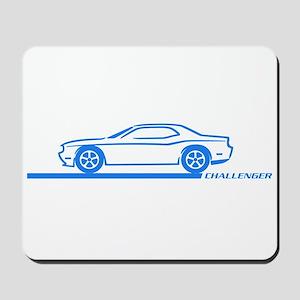 2008-10 Challenger Blue Car Mousepad
