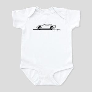 2008-10 Challenger Black Car Infant Bodysuit