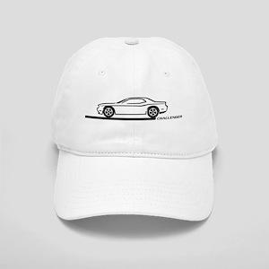 2008-10 Challenger Black Car Cap