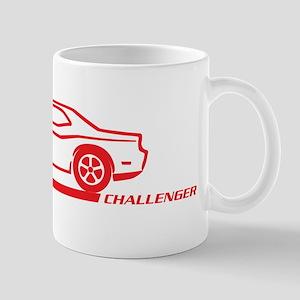 2008-10 Challenger Red Car Mug