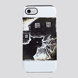 The Black cat iPhone 7 Tough Case