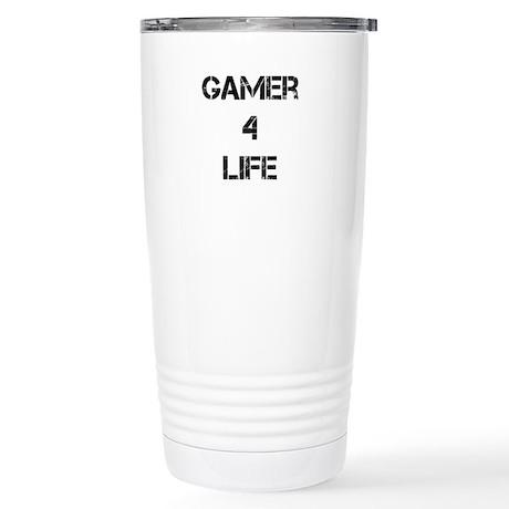 Gamer for Life Stainless Steel Travel Mug