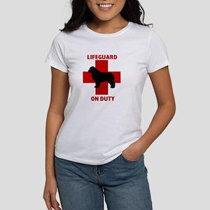 Newfoundland Dog Water Rescue Women's T-Shirt