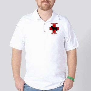 Newfoundland Dog Water Rescue Golf Shirt