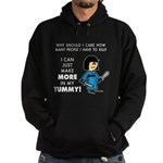I Can Make More in My Tummy! Hoodie (dark)