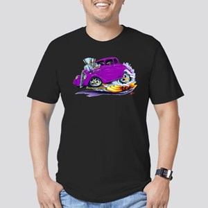 1933-36 Willys Purple Car Men's Fitted T-Shirt (da