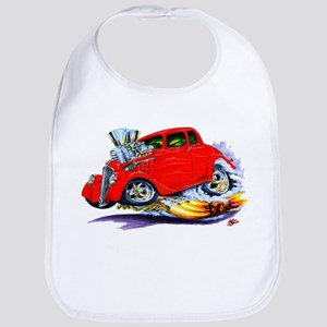 1933-36 Willys Red Car Bib
