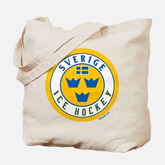 SE Sweden/Sverige Hockey Tote Bag