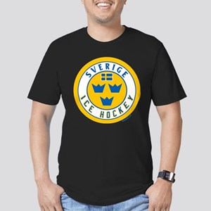 SE Sweden/Sverige Hockey Men's Fitted T-Shirt (dar