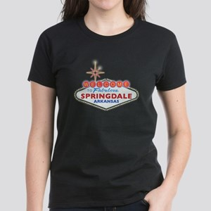 Fabulous Springdale Women's Dark T-Shirt