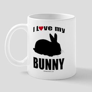 I Love my Bunny ~  Mug