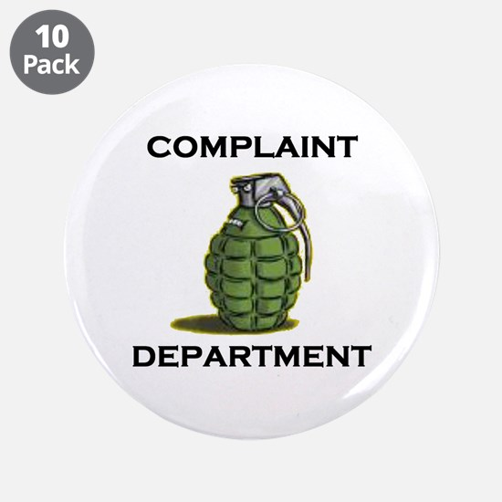 "DON'T MAKE ME MAD 3.5"" Button (10 pack)"