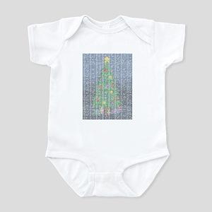 Binary Christmas Carol - O Ta Infant Bodysuit