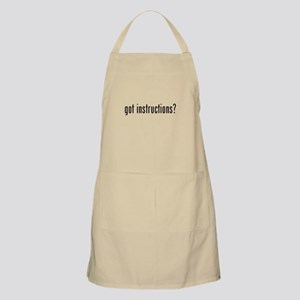 got instructions? Apron