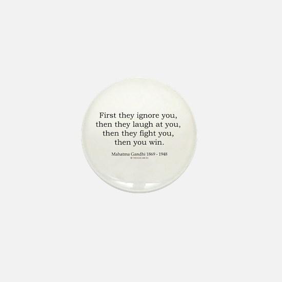 Mahatma Gandhi 9 Mini Button