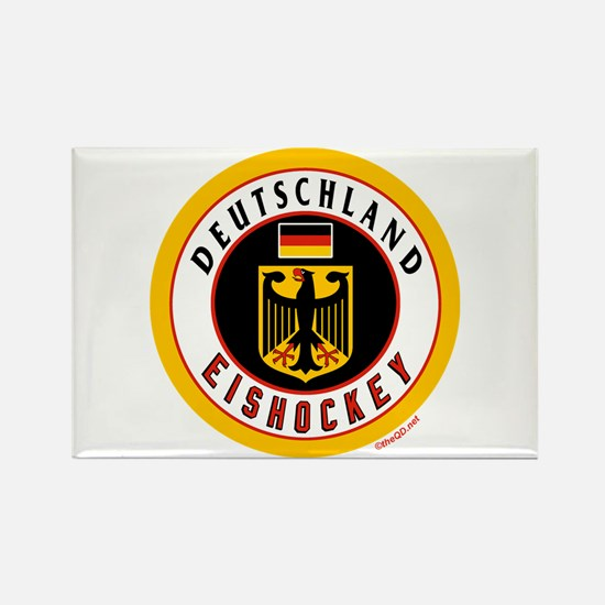 Germany Hockey(Deutschland) Rectangle Magnet