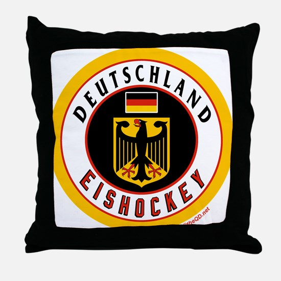 Germany Hockey(Deutschland) Throw Pillow