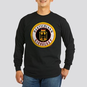Germany Hockey(Deutschland) Long Sleeve Dark T-Shi