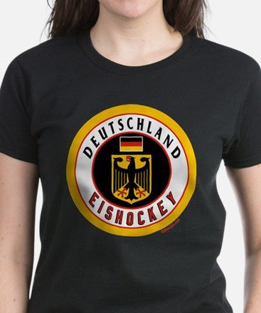 Germany Hockey(Deutschland) Women's Dark T-Shirt