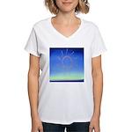 DEC.3RD DAY#337. ELEGANCE ? Women's V-Neck T-Shirt