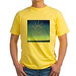 DEC.3RD DAY#337. ELEGANCE ? Yellow T-Shirt