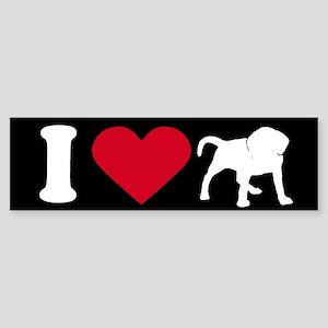 I Love my Puggle ~ Bumper Sticker