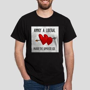 LIBERALS HATE YOU Dark T-Shirt