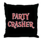 Party Crasher Throw Pillow