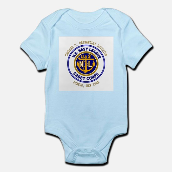 Navy League Color - CCC Divis Infant Creeper