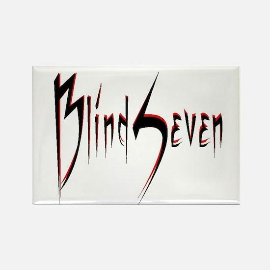 BlindSeven Rectangle Magnet